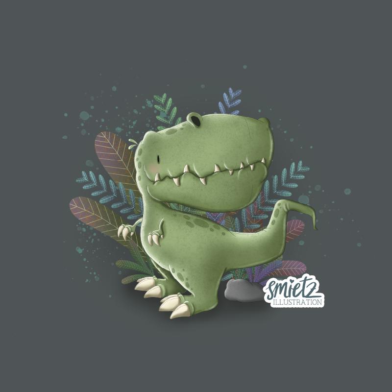 Illustration Dino T-Rex
